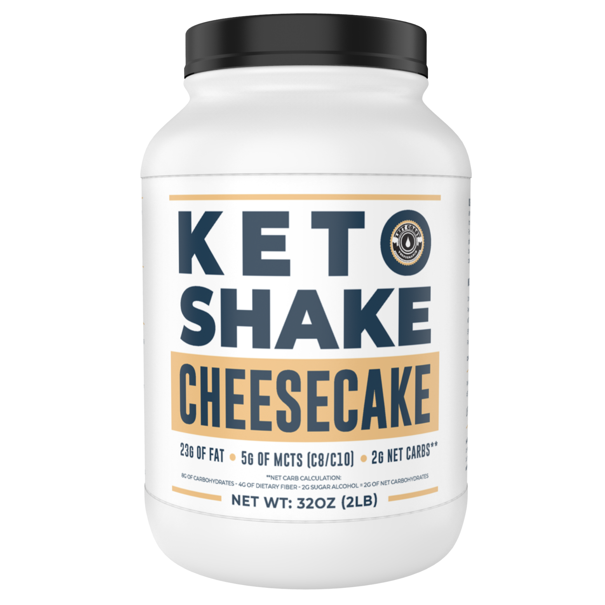 Keto Shake Cheesecake -Meal Replacement Shake Mix [2lbs]