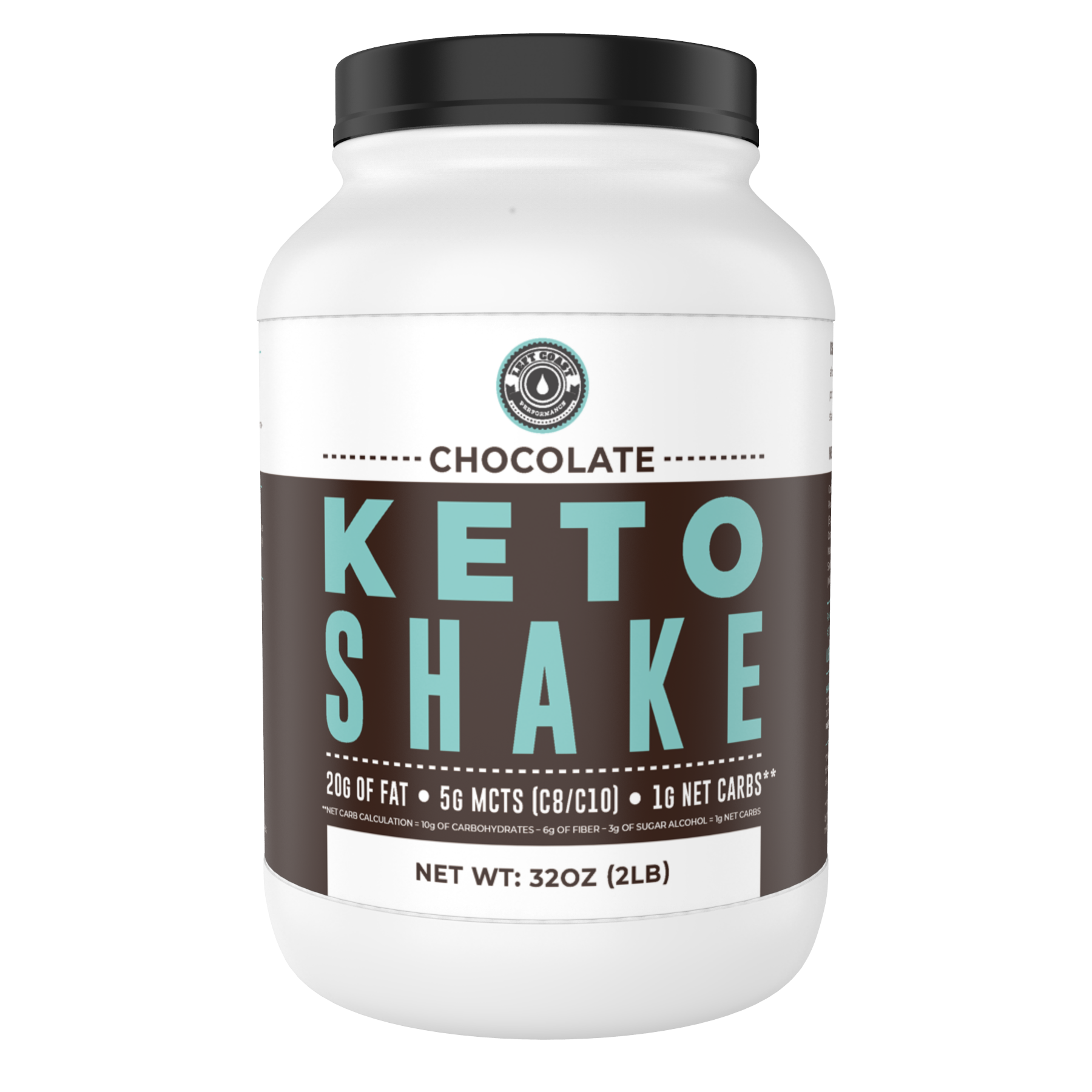 Keto Shake - Chocolate, 2lbs