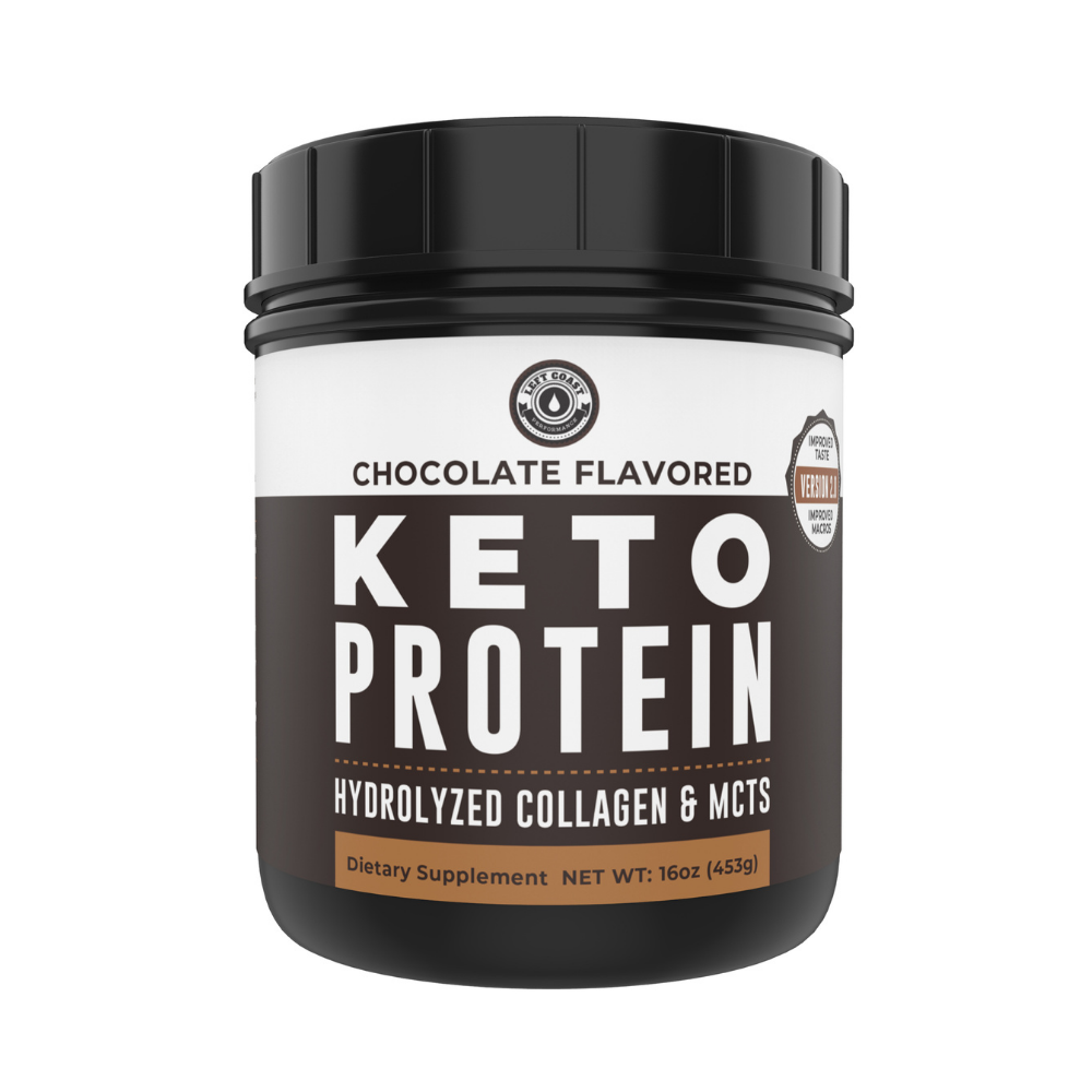Chocolate Keto Protein Powder - 1 Lb