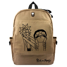 Load image into Gallery viewer, Rick and Morty Backpack
