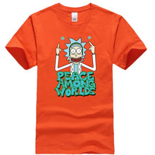 Load image into Gallery viewer, Rick and Morty Peace Among World T-Shirt