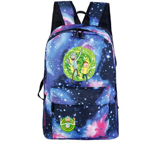 Rick and Morty Backpack