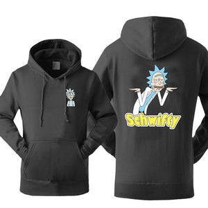 Rick and Morty Schwifty Hoodie