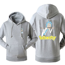 Load image into Gallery viewer, Rick and Morty Schwifty Hoodie