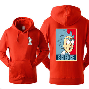 Rick and Morty Science Hoodie