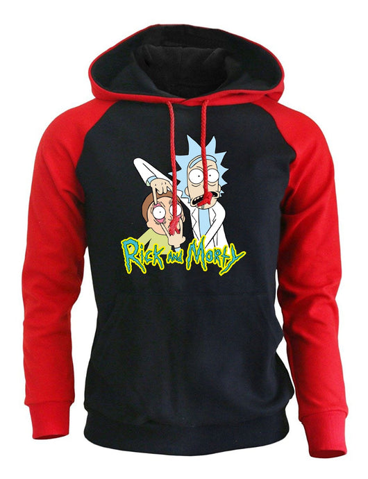 Rick and Morty Grahpic Pull Over