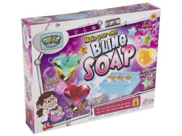 Make you own bling soap