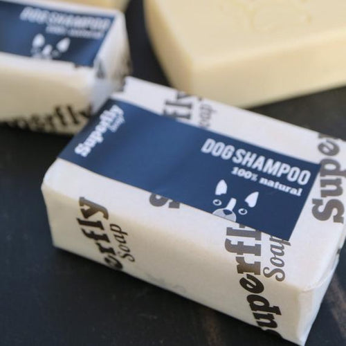 Solid Dog Shampoo Bar by Superfly Soap