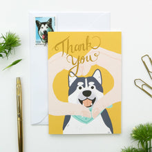 Load image into Gallery viewer, Thank You Doggo Card by Hux Loves Honey