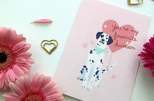 Puppy Love Card by Hux Loves Honey