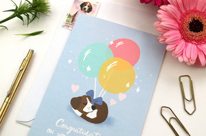 Fur Baby Card by Hux Loves Honey