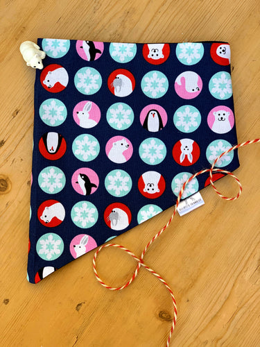 Arctic Animals - Dog Bandana Various Sizes
