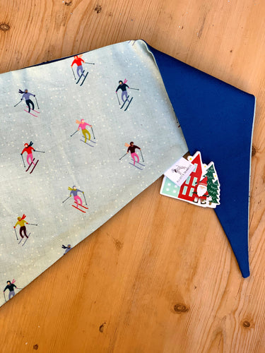 On The Slopes - Large Dog Bandana