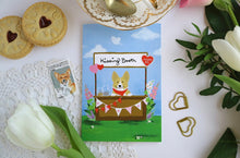 Load image into Gallery viewer, Corgi Kisses Card by Hux Loves Honey