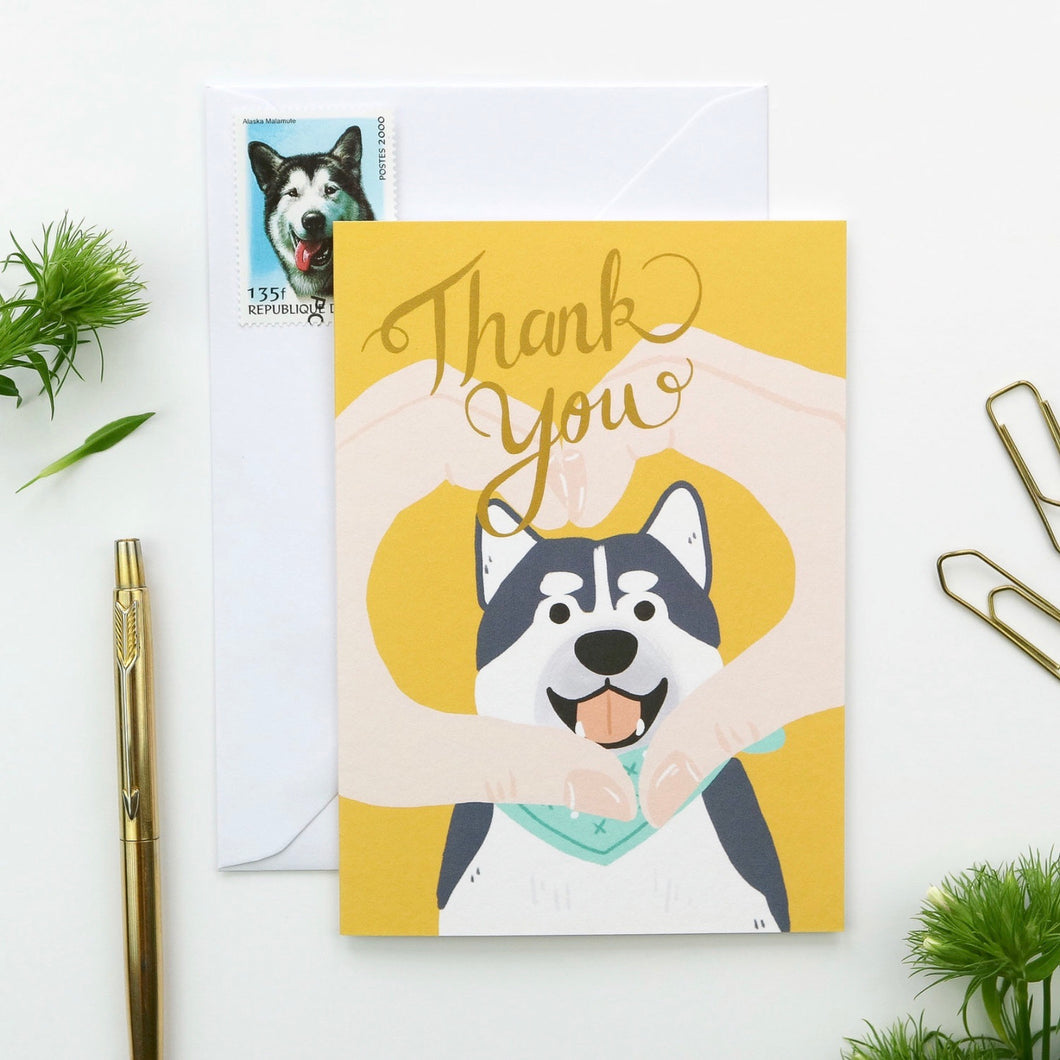 Thank You Doggo Card by Hux Loves Honey