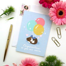 Load image into Gallery viewer, Fur Baby Card by Hux Loves Honey