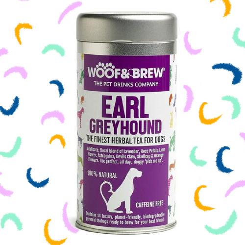 Earlgreyhound - the finest herbal tea for dogs