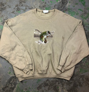Tanned bass Crewneck