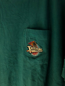 Embroidered Pistons T shirt
