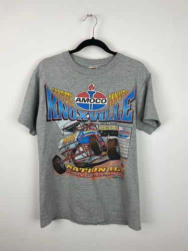 90s Front And Back Racing T shirt - S