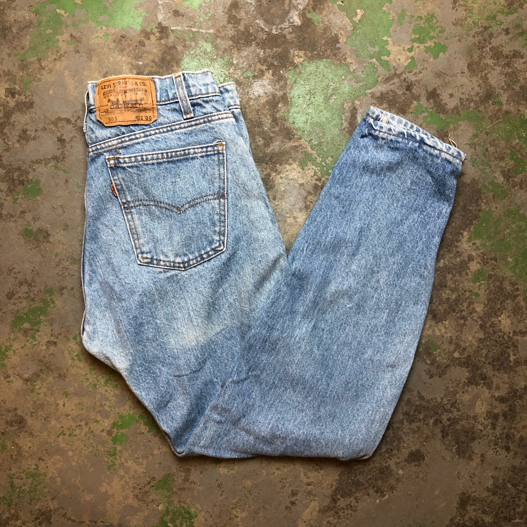 90s light wash Levi's denim pants