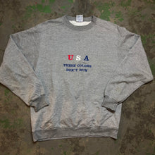 Load image into Gallery viewer, Embroidered USA Crewneck
