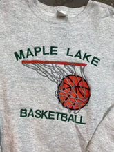 Load image into Gallery viewer, Heavy weight embroidered basketball crewneck