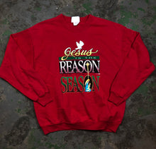 Load image into Gallery viewer, Jesus is the reason crewneck