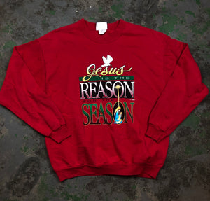 Jesus is the reason crewneck