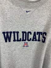 Load image into Gallery viewer, Oversized Wildcats middle check Nike crewneck