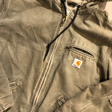 Load image into Gallery viewer, FullZip Hooded Carhartt Jacket