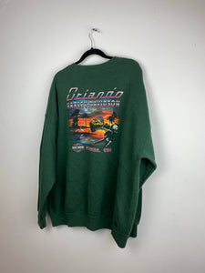 Vintage front and back Harley Davidson crewneck