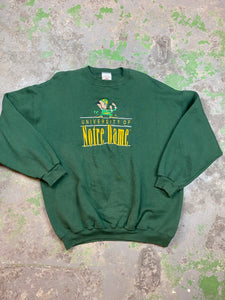 Embroidered Notre dame crewneck