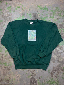 Vintage learning gardens crewneck
