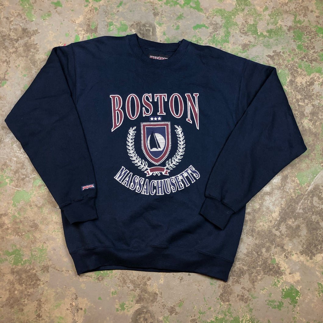 Heavyweight Boston Crewneck