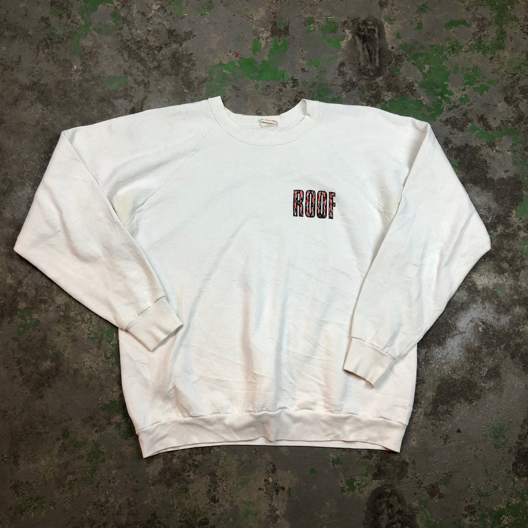 Front and back Roof Crewneck