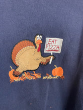 Load image into Gallery viewer, Vintage embroidered Turkey crewneck - M