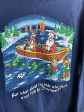 Load image into Gallery viewer, 90s Santa Christmas crewneck