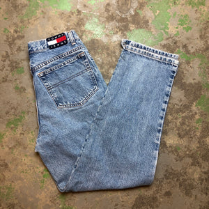 Straight leg Tommy denim pants