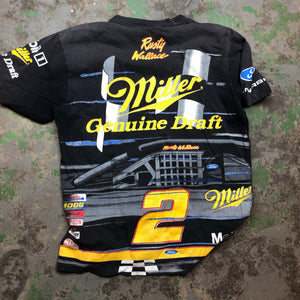 All over print Rusty Wallace Shirt
