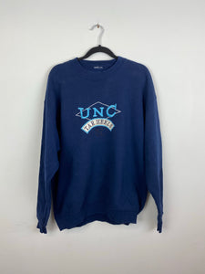 90s Embroidered UNC crewneck