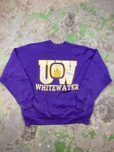 Heavy weight white water crewneck