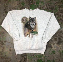 Load image into Gallery viewer, Wolf Crewneck