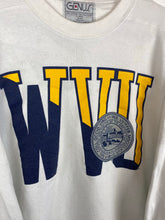 Load image into Gallery viewer, 90s WVU varsity crewneck