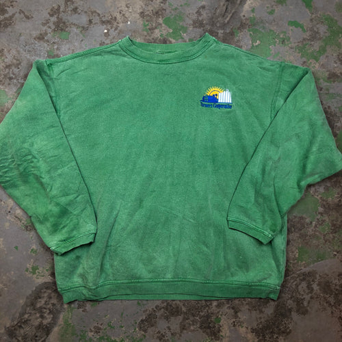Stone wash farmers cooperative Crewneck