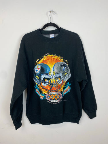 1995 Steelers vs Cowboys crewneck - M/L