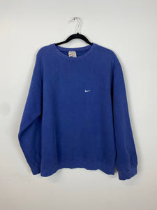 Light purple 90s Nike crewneck - M/L