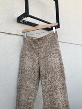 Load image into Gallery viewer, Vintage Patterned Pants With Slight Flare
