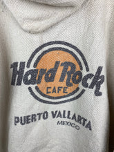 Load image into Gallery viewer, Hemp Hard Rock Cafe throw over beach hoodie