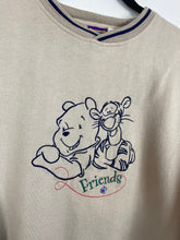 Load image into Gallery viewer, Embroidered Pooh & Tiger crewneck